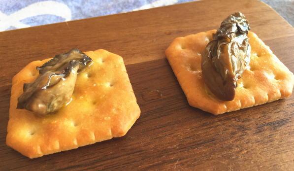 カルディの燻製牡蠣オイル漬け アップ