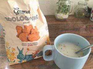 グローナ ズービスケットとスープ