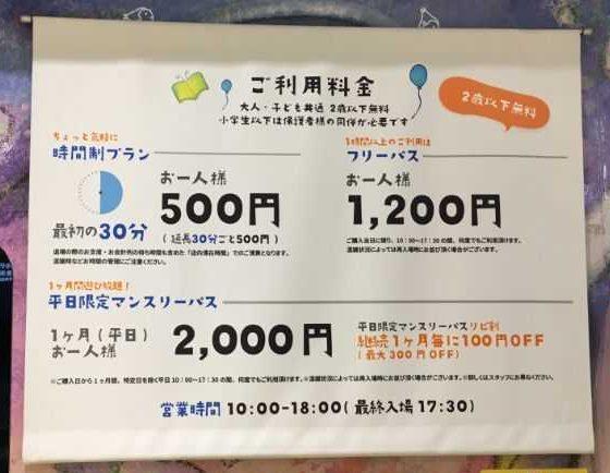 ららぽーと富士見 チームラボ 未来の遊園地 料金