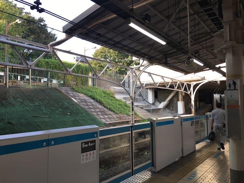 jr上野駅のホーム