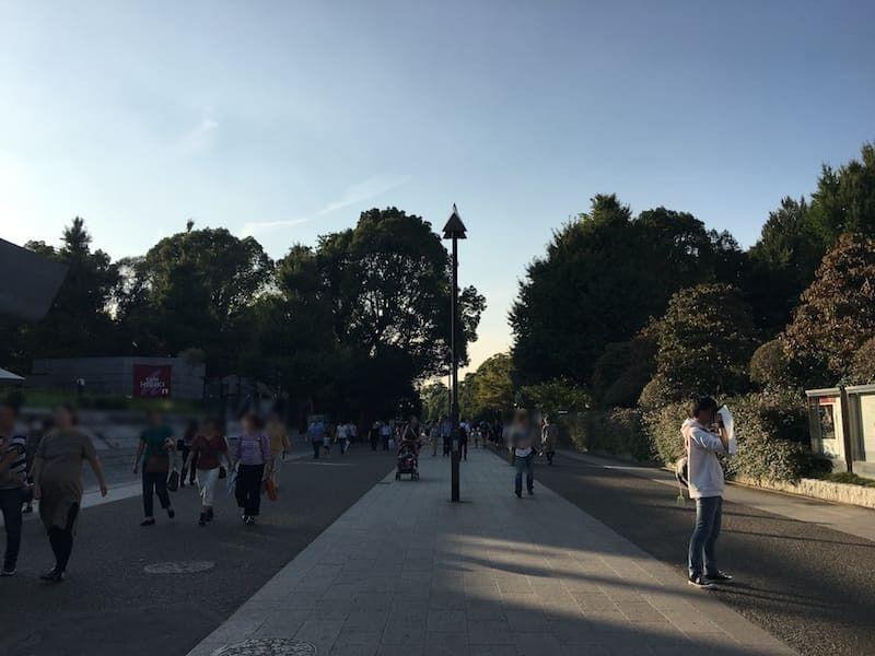 上野公園 国立西洋博物館付近