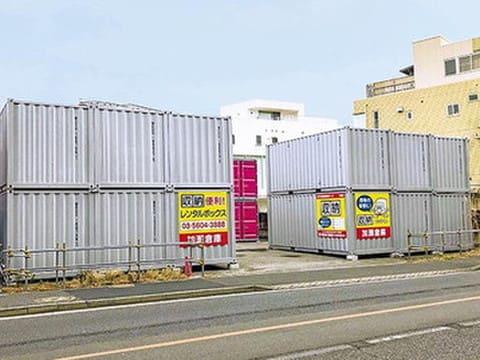 加瀬のレンタルボックス江戸川南篠崎町店